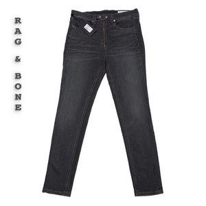 Rag & Bone The Baxter Coated Skinny Jeans Size 29